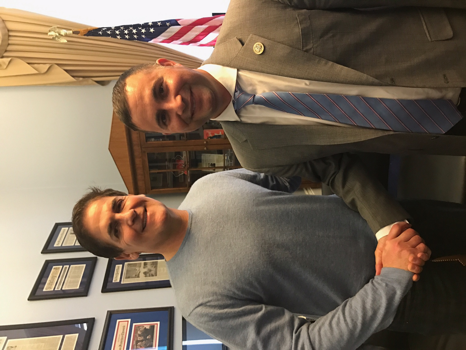 Congressman Soto and Mark Cuban