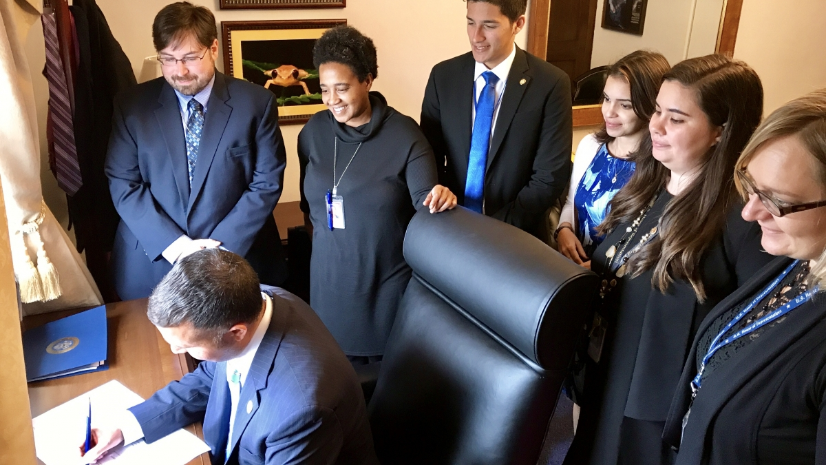Rep. Soto Signs TUFGRID Act