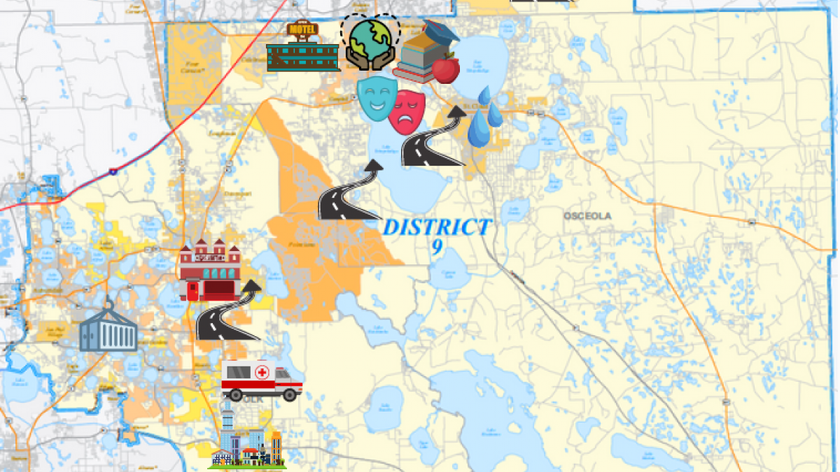 FL-09 map with icons for CPF