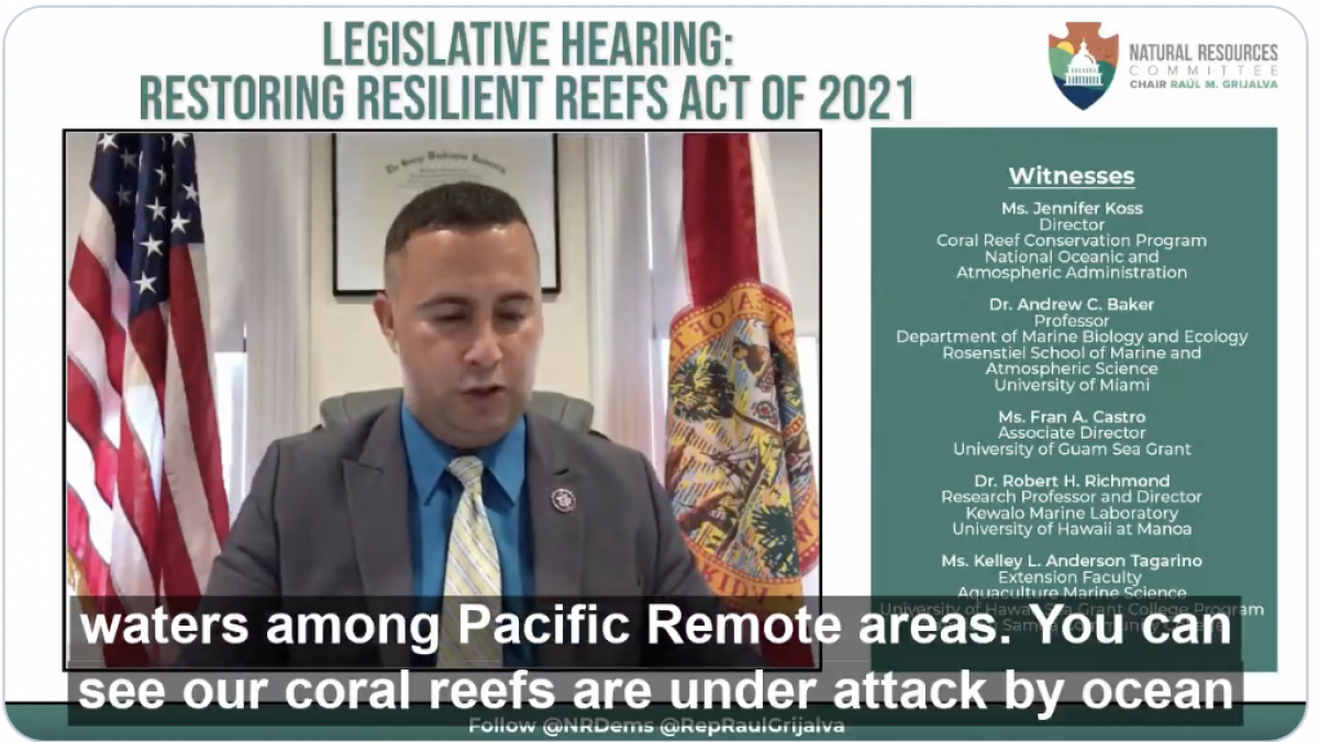 Soto Restoring Resilient Reefs Act