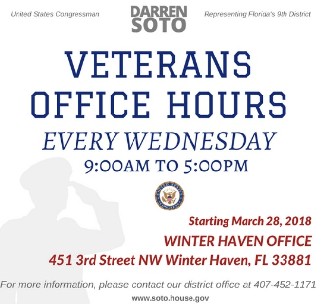 Veterans Office Hours